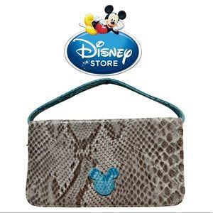 Disney store bag Mickey ears gray & blue  EUC